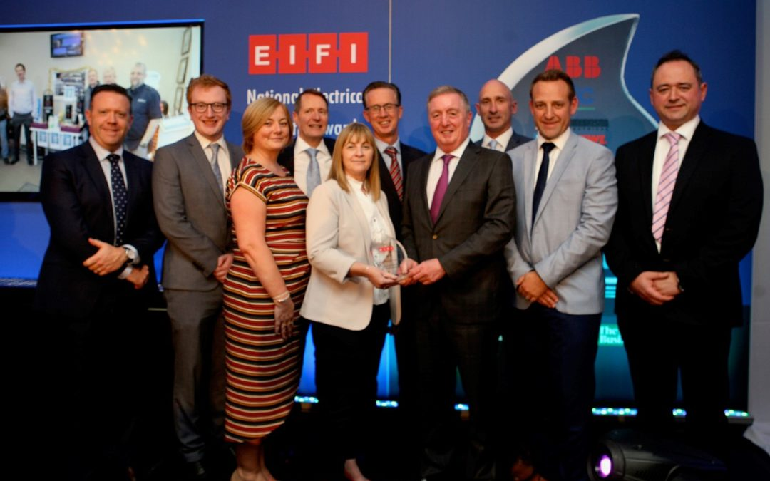 Sunray RF & Electrical Industries Federation Of Ireland Awards 2019